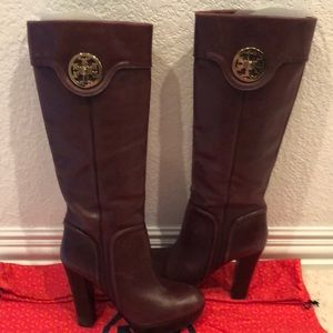 Rare Tory Burch platform boots